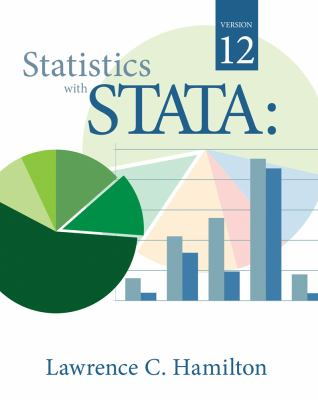 Statistics with STATA  8th 2013 edition cover