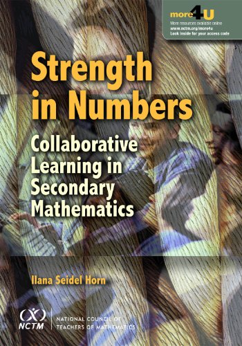 Strength in Numbers Collaborative Learning in Secondary Mathematics  2011 edition cover