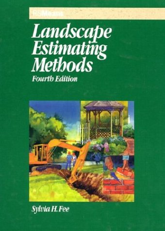 Landscape Estimating Methods 4th 2002 edition cover