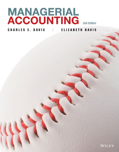 Managerial Accounting  2nd 2013 edition cover