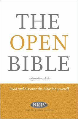 Open Bible   2012 9781401675639 Front Cover