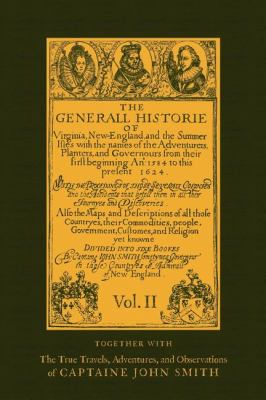 Generall Historie of Virginia  N/A 9781557093639 Front Cover