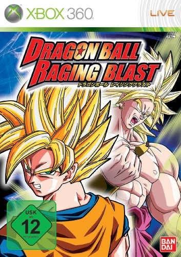 Dragonball: Raging Blast Xbox 360 artwork