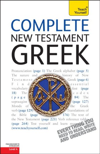 Complete New Testament Greek  3rd 2011 9780071752640 Front Cover