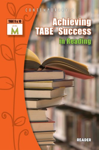Achieving TABE Success in Reading, TABE 9 and 10 Level M - Reader   2006 edition cover