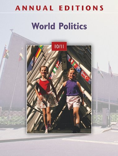World Politics 10/11  31st 2011 9780078050640 Front Cover