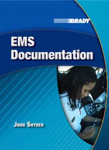 EMS Documentation   2009 edition cover