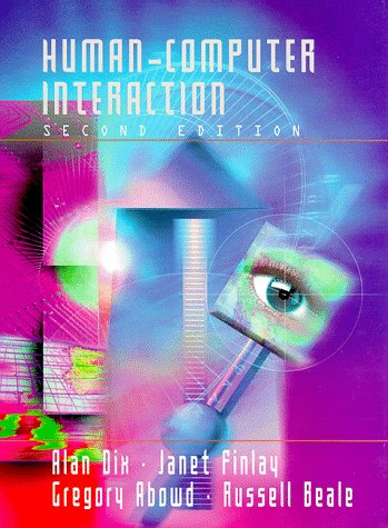 Human Computer Interaction 2nd 1998 edition cover