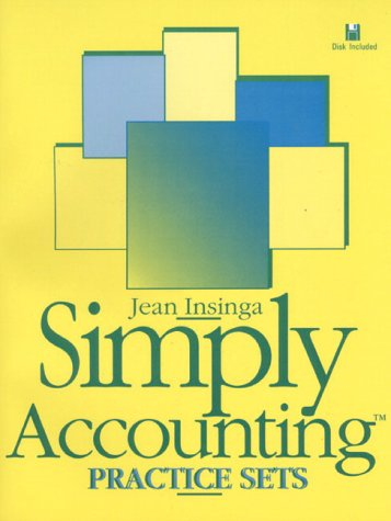 Simply Accounting Practical Accounting 3rd 1996 9780133487640 Front Cover