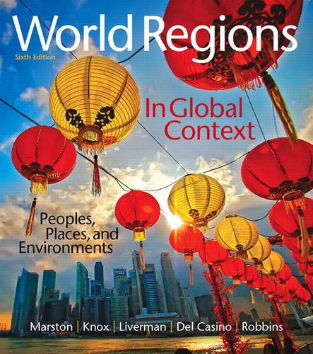 World Regions in Global Context: Peoples, Places, and Environments 6th 2016 9780134183640 Front Cover