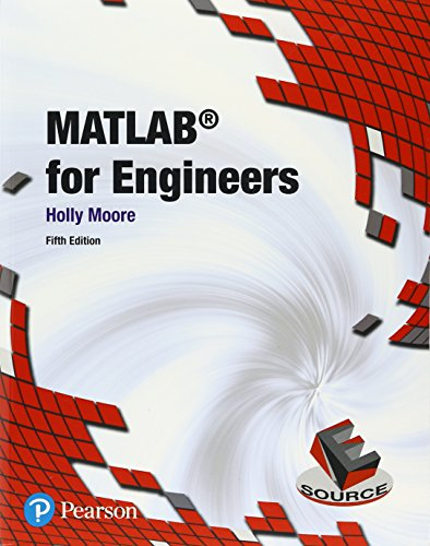 Matlab for Engineers:   2017 9780134589640 Front Cover