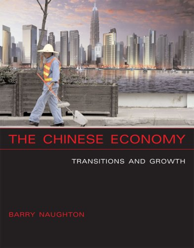 Chinese Economy Transitions and Growth  2007 9780262640640 Front Cover