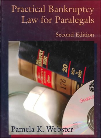 Bankruptcy Law for Paralegals  2nd 1996 (Revised) 9780314066640 Front Cover