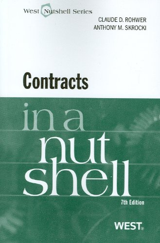 Contracts  7th 2010 (Revised) edition cover