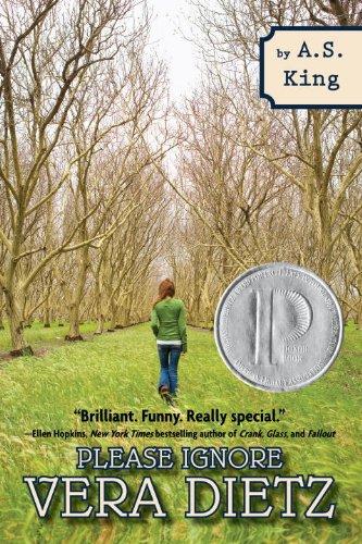 Please Ignore Vera Dietz   2012 edition cover