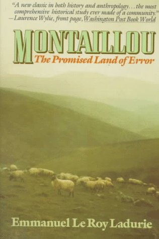 Montaillou The Promised Land of Error N/A edition cover