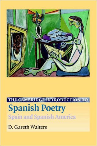 Cambridge Introduction to Spanish Poetry Spain and Spanish America  2002 edition cover
