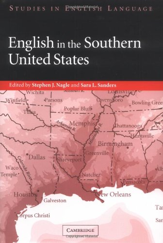 English in the Southern United States   2003 9780521822640 Front Cover