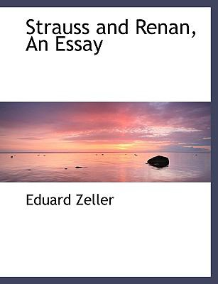 Strauss and Renan: An Essay  2008 edition cover