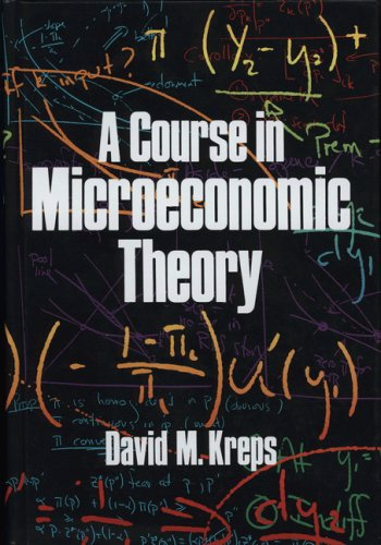 Course in Microeconomic Theory   1990 9780691042640 Front Cover