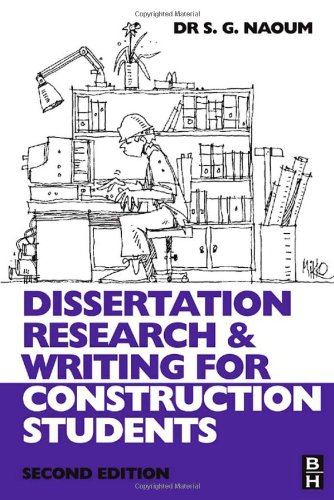 Dissertation Research and Writing for Construction Students  2nd 2007 (Revised) 9780750682640 Front Cover