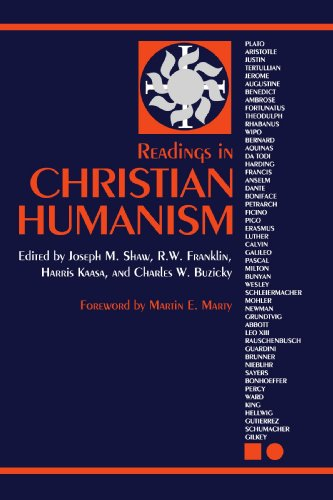 Readings in Christian Humanism   2009 edition cover