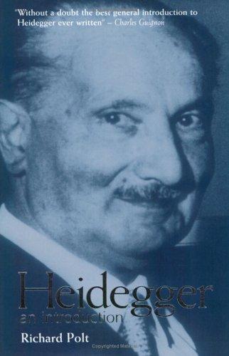 Heidegger An Introduction  1999 edition cover
