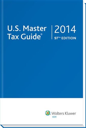 U. S. Master Tax Guide (2014)  N/A edition cover