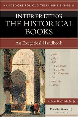 Interpreting the Historical Books An Exegetical Handbook  2006 edition cover