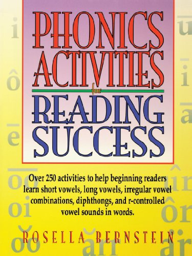 Phonics Activities for Reading Success   1997 (Teachers Edition, Instructors Manual, etc.) 9780876285640 Front Cover