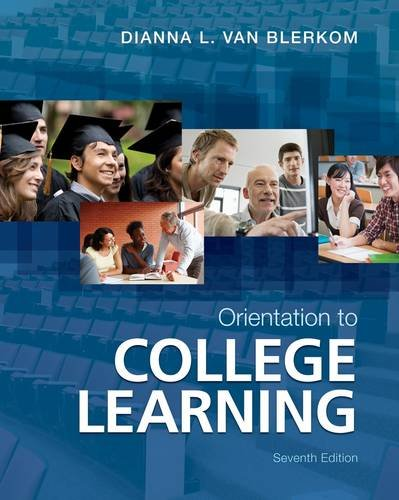 Orientation to College Learning  7th 2013 edition cover