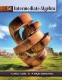 Student Workbook for Tussy/Gustafson's Intermediate Algebra, 5th  5th 2013 edition cover