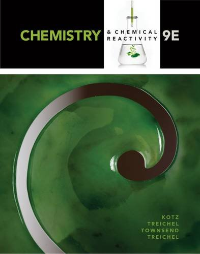 Chemistry and Chemical Reactivity: 9th 2014 edition cover