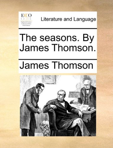 Seasons by James Thomson N/A 9781170793640 Front Cover