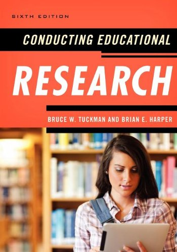 Conducting Educational Research  6th 2012 edition cover