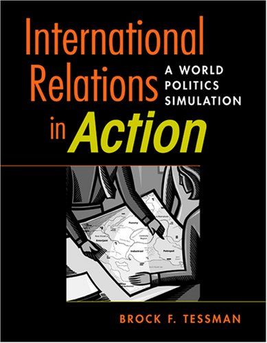 International Relations in Action A World Politics Simulation  2007 edition cover