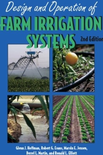 Design and Operation of Farm Irrigation Systems 2nd 2007 edition cover