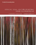 Ethical, Legal, and Professional Issues in Counseling  5th 2016 9780134061641 Front Cover