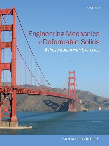 Engineering Mechanics of Deformable Solids A Presentation with Exercises  2012 edition cover