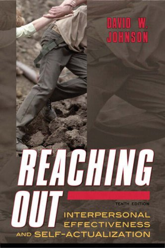 Reaching Out Interpersonal Effectiveness and Self-Actualization 10th 2009 edition cover
