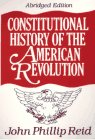 Constitutional History of the American Revolution   1995 (Abridged) edition cover