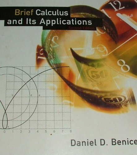 Calculus Brief 2nd 1997 edition cover