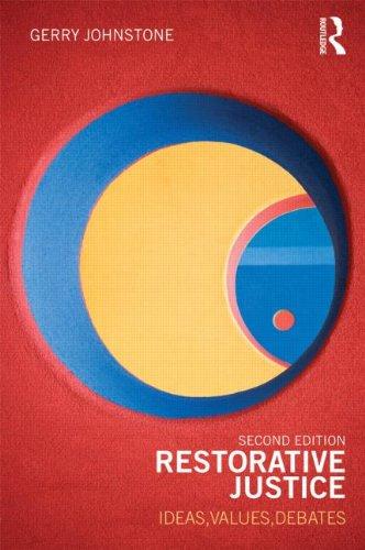 Restorative Justice Ideas, Values, Debates 2nd 2012 (Revised) edition cover
