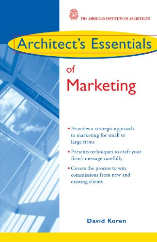 Architect's Essentials of Marketing   2005 edition cover