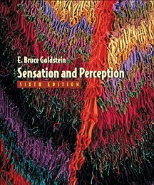 Sensation and Perception  6th 2002 edition cover