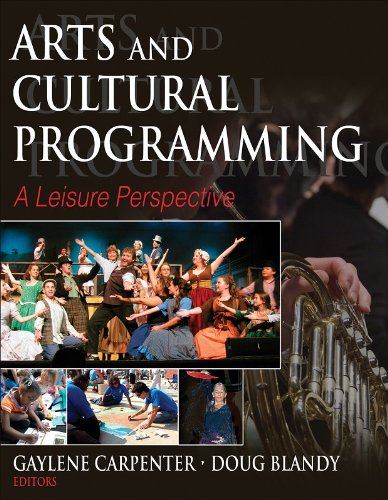 Arts and Cultural Programming A Leisure Perspective  2008 edition cover