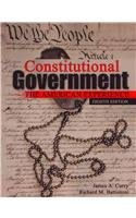 Constitutional Government The American Experience 8th (Revised) edition cover