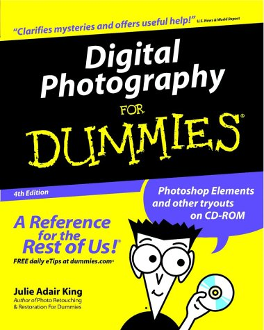 Digital Photography for Dummies�  4th 2002 (Revised) 9780764516641 Front Cover