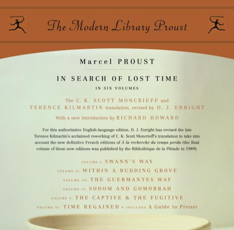 In Search of Lost Time Proust N/A edition cover