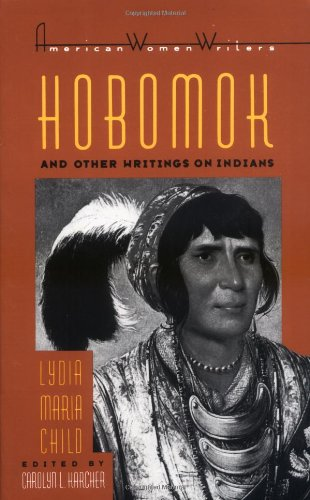 Hobomok and Other Writings on Indians   1986 edition cover